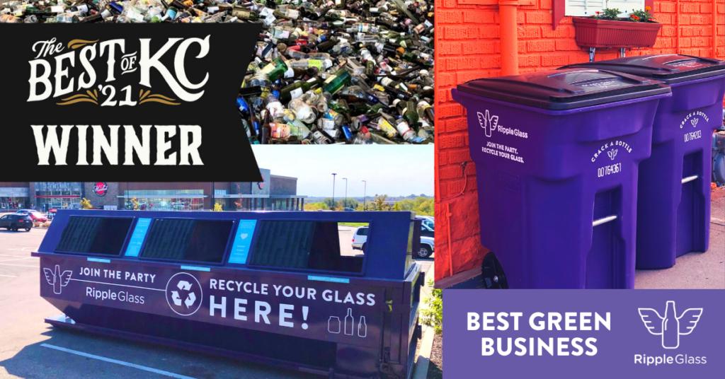 Ripple Glass wins Kansas City Magazine Best of KC Best Green Business
